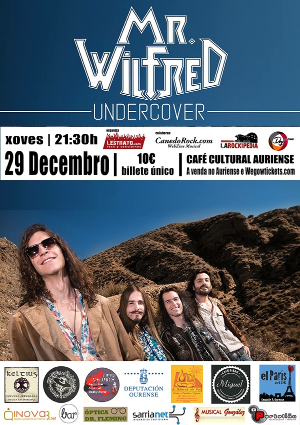 Mr Wilfred. 29 diciembre. Ourense